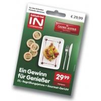 Casinos Austria 25 € Begrüßungsjetons + Gourmet-Gericht um 29,99 €