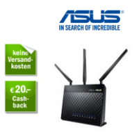 Redcoon Adventskalender – zB Asus RT-AC68U WLAN Router um 139€