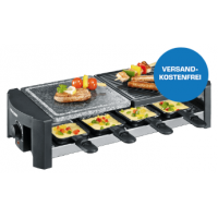Saturn Tagesdeals – zB Raclette Partygrill inkl. Versand um 29 €