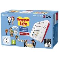 Nintendo 2DS – Konsole (weiß + rot) inkl. Tomodachi Life um 88 €