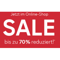 Sale mit bis zu 70 % Rabatt im C&A Onlineshop