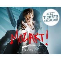 Musical Mozart im Raimund Theater: 30 % Rabatt auf Tickets