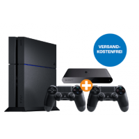 Sony PlayStation 4 500 GB (CUH-1216) + 2 DualShock 4 Wireless Controller + PlayStation TV inkl. Versand um 355 € im Saturn Onlineshop