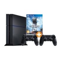 Media Markt 8 bis 8 Nacht – PlayStation 4 500 GB (neues Modell) + 2. Wireless Controller + Star Wars Battlefront um 399 € inkl. Versand