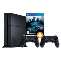 Saturn Tagesdeals – zB PlayStation 4 500 GB + 2x DualShock 4 Wireless Controller + Need for Speed um 399 €