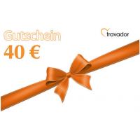 Top! 40 € Gutschein von Travador um nur 4 € – ab Kauf 3 Jahre gültig!