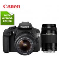 Redcoon Supersale – zB. Canon EOS 1200D 18-55+75-300  Spiegelreflexkamera inkl. Versand um 444 €