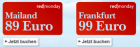 Um 89€ nach Mailand oder um 99€ nach Frankfurt @Austrian redmonday