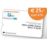 35 € Park-Karte (Wipark-Garagen) um 25 € für Wien Energie Kunden
