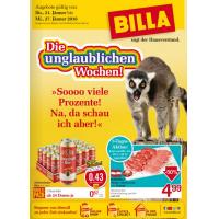 Unglaubliche Wochen bei Billa: 25% Rabatt auf Biere & 1+1 gratis Artikel