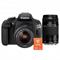Canon EOS 1200D mit 2 Objektiven + 16 GB Eyefi um 444 € statt 599 €