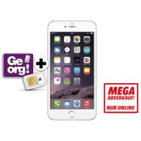 Apple iPhone 6+ 64GB in silber um nur 649 € statt 745 €