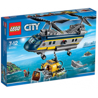 Lego City – Tiefsee Helikopter (60093) um 26,99 € (+3,95 € Versand)