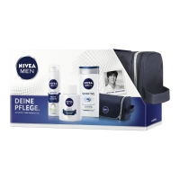 Nivea Men Sensitive Geschenkset inkl. Kulturtasche um 8,04 €