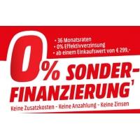Media Markt – 0% Sonderfinanzierung ab 299 Euro Einkaufswert