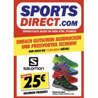 Salomon Schuhe um 25 € bei Sports Direct – nur heute 11.2.2016