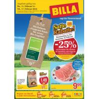 Unglaubliche Wochen bei Billa: 25% Rabatt auf Ja! Natürlich- und Vegavita Produkte & 1+1 gratis Artikel