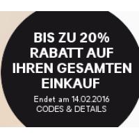 H&M Onlineshop: bis zu 20 % Rabatt auf euren Einkauf
