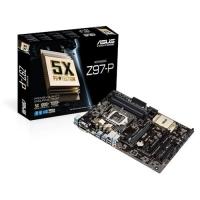 Asus Z97-P Mainboard Sockel LGA1150 um 42,71 € statt 97,58 €