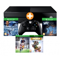 Media Markt 8 bis 8 Nacht – Xbox One 500GB Bundle mit 4 Spielen + 2 Controllern + 1 Monat EA Access inkl. Versand um nur 311 €