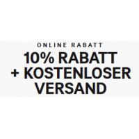 H&M Onlineshop: 10 % Rabatt + kostenloser Versand bis 26.02.2017
