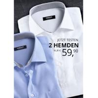 Walbusch.at: 2x Comfort- oder Slim Fit Hemden um 59,90 € statt 115,80 €
