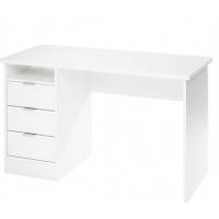 Schreibtisch 120/76/55 cm in weiß um 30 Euro (Abholung) bei Mömax