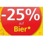 Spar/Eurospar/Interspar: 25 % Rabatt auf Bier (Radler) – bis 07.12.