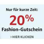 20% Extra-Rabatt auf Bekleidung, Schuhe und Handtaschen bei Amazon