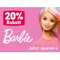 """20 % Rabatt auf Barbie Artikel bei Toys""""R""""Us bis 2. März 2016"""