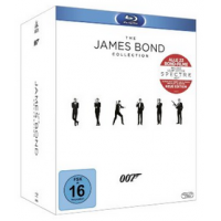 The James Bond Collection (Blu-ray): 23 Filme um 94,97 € statt 119,99 €