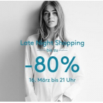 Designer Outlet Parndorf: Late Night Shopping am 24.08.2017 bis 23 Uhr
