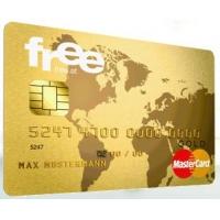 Gebührenfreie Kreditkarte – free Mastercard Gold inkl. Reiseversicherung* & 25 € Amazon Gutschein geschenkt