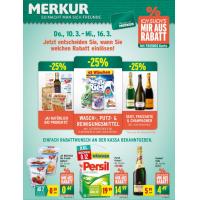 Merkur Angebote: -25% auf 3 Warengruppen & 1+1 Aktionen bis 16.3.