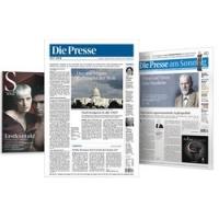 """8 Wochen """"Die Presse"""" Vollabonnement um nur 8 € statt 99 €"""