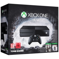 Xbox One 1TB Konsole – Bundle inkl. Rise of the Tomb Raider und Tomb Raider: Definitive Edition (B-Ware) ab 261,92 € inkl. Versand