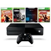 Xbox One 1TB Konsole inkl. Rainbow Six Siege + Rainbow Six Vegas + Rainbow Six + Halo 5: Guardians – Limited Edition um 319€ statt 401,88€