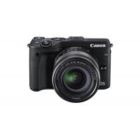 Canon EOS M3 Systemkamera inkl. EF-M 18-55 mm IS STM Objektiv und Premium-Zubehör-Kit um 352,50 € statt 552,51 € bei Amazon