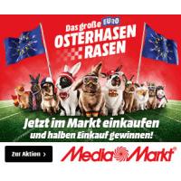 Media Markt Osterhasen Rasen – Gewinne den halben Einkauf zurück!