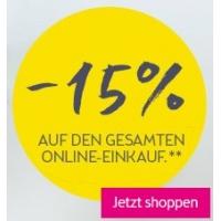 15% Rabatt auf fast Alles im BIPA Online Shop – bis 24. März 2016
