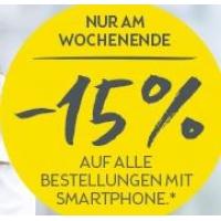 15% Rabatt auf euren Einkauf im BIPA Online Shop mit Smartphone