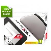 Nintendo 3DS XL Konsole (schwarz/grau) inkl. Versand um 100,80 €