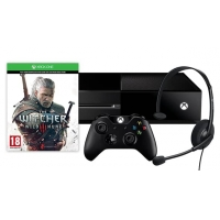 Xbox One 500GB + The Witcher 3: Wild Hunt + Halo Master Chief Collection inkl. Versand um 299 € im Microsoft Store