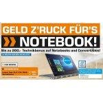Saturn – bis zu 200 € Technikbonus auf Notebooks und Convertibles