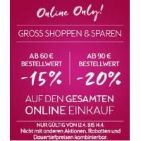 Bipa Onlineshop: bis zu 20 % Rabatt bis 14. April (inkl. clever-Artikel)