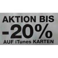 Post: bis zu 20% Rabatt auf iTunes-Karten vom 18. bis 24. April 2016