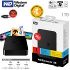 Western Digital 1 TB Elements 6,35cm (2,5″) externe, portable Festplatte mit USB 3.0 um 75,90€ @iBOOD.at