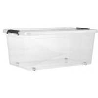 Kunststoff Box mit Deckel (40 Liter Volumen) um nur 5 € bei Mömax