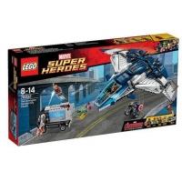"LEGO – Marvel Super Heroes Spielset ""Avengers Verfolgungsjagd mit dem Quinjet"" (76032) um 53,99 € (+3,95 € Versand) statt 69,06 €"
