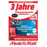Media Markt Wien Mitte Jubiläums-Angebote vom 21.- 27. April 2016